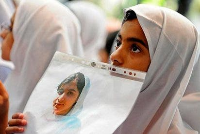 Piden el Nobel de la Paz para la niña que recibió un disparo por defender el derecho a la educación