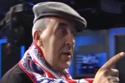 Manolete canta un chotis a Roncero para 'calentar' el Atlético de Madrid-Real Madrid