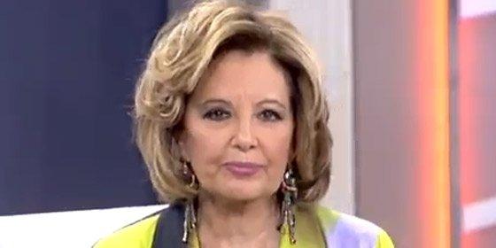 María Teresa Campos sufrió una crisis de ansiedad al filtrarse su número de teléfono