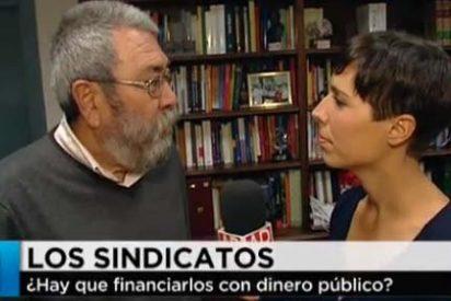 """Marta Nebot a Cándido Méndez: """"¿Si no gobernase el PP habrían convocado dos huelgas generales en menos de un año?"""""""
