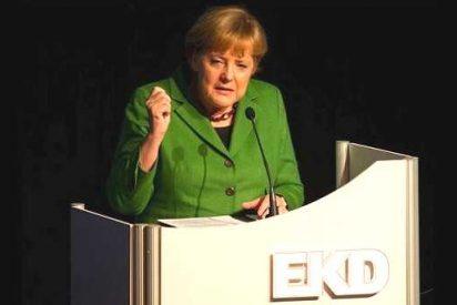 """Merkel agradece a Lutero el logro de una sociedad """"madura y responsable"""""""