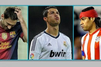 ¿Se les ha mojado la pólvora a Leo Messi, Cristiano Ronaldo y Radamel Falcao?