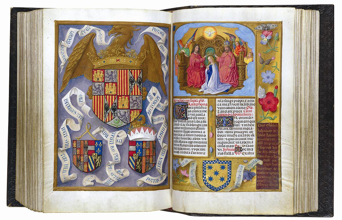 'El gabinete de las maravillas', códices iluminados de las mejores bibliotecas del mundo