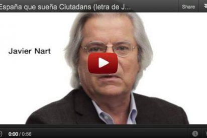 Sabina pone letra al himno nacional en el vídeo de la campaña de Ciutadans