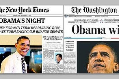 "Del ""Obama wins"" al ""Obama's Night"": el triunfo de Barack Obama visto por la prensa de EEUU"