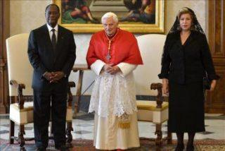El papa pide al presidente de Costa de Marfil que trabaje por la reconciliación nacional