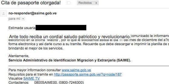 """Así se dirige el régimen del 'Gorila Rojo': """"Un saludo patriótico y revolucionario"""""""
