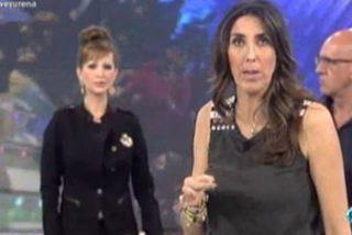 """Paz Padilla enfurece a lo bestia y echa a una invitada del plató de 'Sálvame': """"¡A mí no me amenaza nadie! ¡Fuera!"""""""
