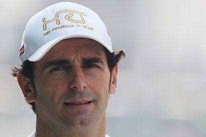 Pedro Martínez de la Rosa, piloto catalán de Fórmula 1, 'comparte' el lema de Ciutadans