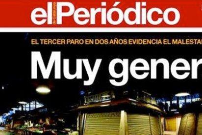 """Luis del Val (COPE): """"Recomiendo a los sindicatos que sólo lean El Periódico de Catalunya, para que la aritmética no les quite la satisfacción"""""""