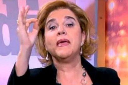 Pilar Rahola, la 'groupie' de CiU, al socialista José Bono: 'Vete a la merde'
