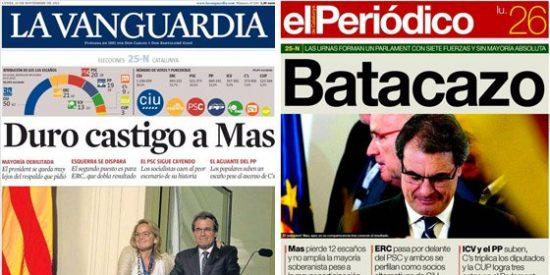 Godó tapa como puede el fracaso electoral de su patrocinado Artur Mas