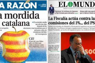 Corrupción en Cataluña: la gran mordida primero de CiU y ahora del PSC