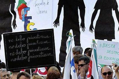 Medio centenar de centros educativos de Mallorca cerrarán sus puertas el 28 de noviembre por los recortes del Govern