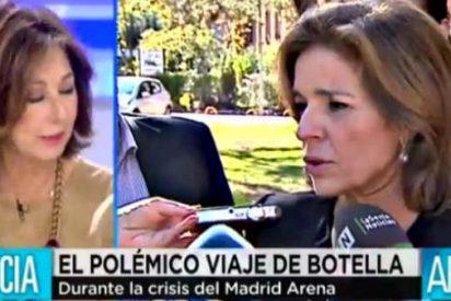 """Los tertulianos de El Programa de A.R. afean a Botella su viaje a Lisboa: """"No es presentable, las cosas como son"""""""