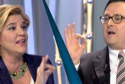 Bronca en 'Telecinco': Rahola se pelea con Marhuenda y Nebrera con Sánchez-Camacho