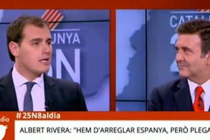 """Albert Rivera a Alfons López Tena: """"La xenofobia es muy mala"""""""
