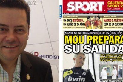 """Tomás Roncero se indigna con las supuestas negociaciones de Mourinho con el PSG: """"Si eso es verdad, a la calle. Le defiendo muchas cosas, pero no la infidelidad ¡Por el Madrid mueres!"""""""