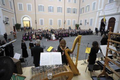Papa: La música sacra impulsa la fe y la nueva evangelización