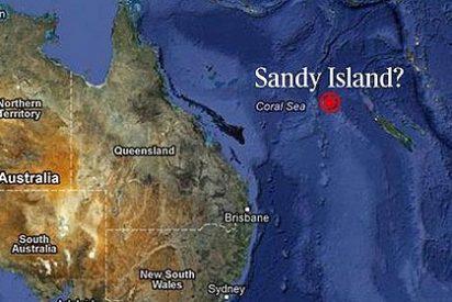 Ahora resulta que la isla que está en todos los mapas, ni siquiera existe