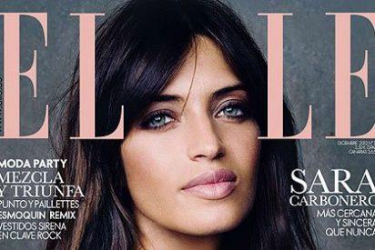 La bella y virginal Sara Carbonero se desnuda en la revista 'ELLE'