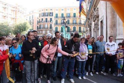 Más de 2.500 personas se han ido esta mañana de 'marcha' en Palma contra la Violencia de Género