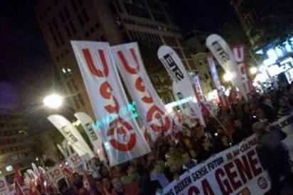 La oposición le echó cara y se unió sin sonrojo al grito de casi 50.000 personas en la manifestación