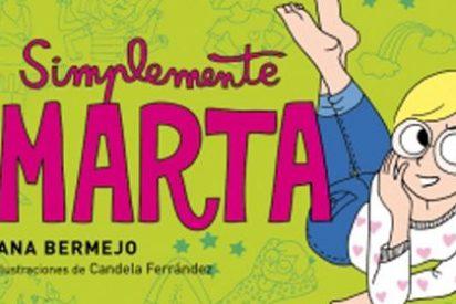 Ana Bermejo y Candela Ferrández trasladan las peripecias de la genial Marta al cómic