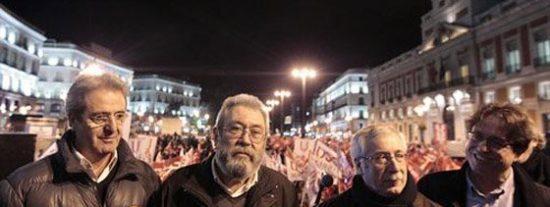 Los huelguistas UGT y CCOO cuestan 1.000 millones al año a los españoles