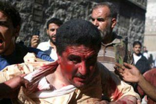 En el vídeo se ve como los rebeldes sirios ejecutan a sangre fría a los soldados prisioneros
