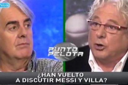 """La nueva bronca entre Messi y Villa, narrada por la SER en el Celtic-Barça, hace montar en cólera a Jorge D´Alessandro: """"¡Yo no me la creo! ¿Con qué está garantizado este documento?"""""""