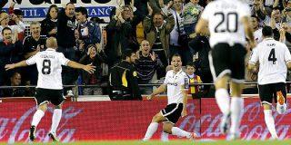 El Valencia derriba con un 2-0 al 'imbatible' Atlético de Madrid del Cholo Simeone