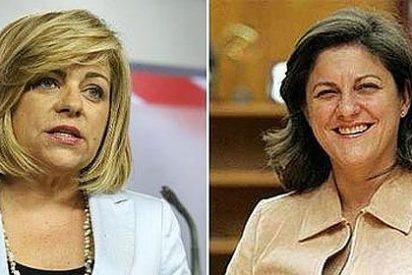La ex ministra socialista María Antonia Trujillo y Elena Valenciano se tiran de los pelos en Twitter