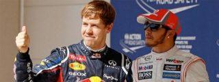 """El mal perder del niñato Vettel: """"¡Ha sido un adelantamiento estúpido, gracias al DRS!"""""""