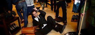 Salvaje asalto sindical a las tiendas de Zara y Apple en Barcelona