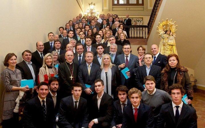 """Osoro insta a los empresarios católicos de Valencia a """"ser trabajadores por el desarrollo de la persona y sus derechos"""""""