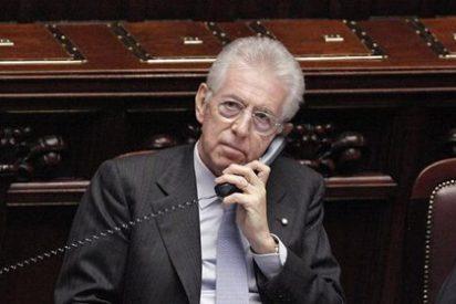 El primer ministro Monti anuncia su dimisión tras saberse que vuelve Berlusconi