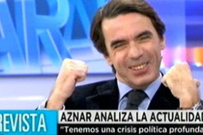 """José María Aznar en 'El Programa de A.R.': """"¿Si acerté con Rajoy? Je, je je..."""""""