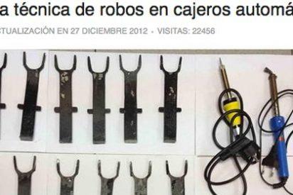 Que no le pille el 'tenedor', la nueva técnica de robo en cajeros automáticos