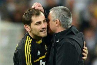 """Iker Casillas: """"No me puedo mojar entre Mourinho y Vicente del Bosque"""""""