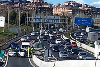 Samsung ofrece gasolina gratis en Madrid y colapsa Madrid