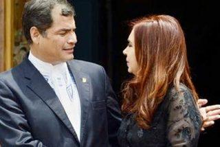 Kirchner premia a Correa por perseguir a la prensa: