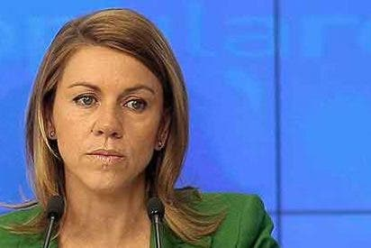 Cospedal hace público que ganó 10.000 euros menos en 2011 que en el año anterior