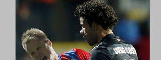 El Atlético de Madrid recupera su faceta de 'pupas' y la pifia en la Europa League
