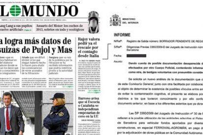 El Mundo vuelve a la carga con el borrador y acusa a El País de encubrir la corrupción