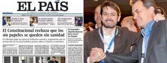 El clan Pujol y el 'caso Campeón': la corrupción que no existe para El País