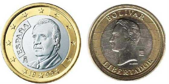 Atención al timo: Cuidado con que no le den bolívares venezolanos en lugar de monedas de euros
