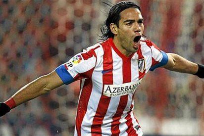 Radamel Falcao hace historia marcando cinco goles magistrales en un sólo partido