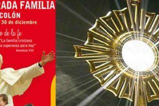40 horas de Adoración Eucarística para preparar la Misa de las Familias