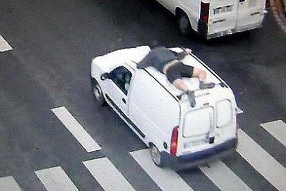 El repartidor polaco con habilidades de Agente Secreto 007 que no se deja robar